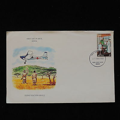 PG-B090 KENYA - Fdc, 1980 Flying Doctor Service Cover