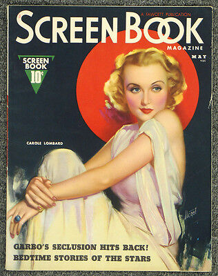 Screen Book May 1937 Carole Lombard Cover