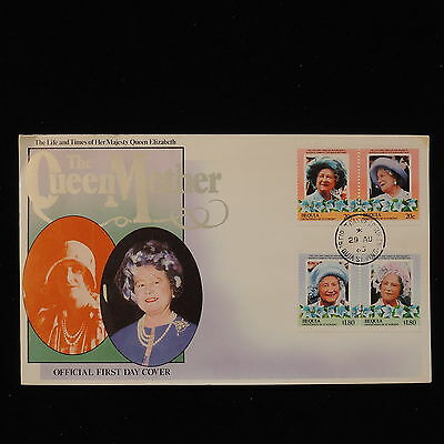 PG-B103 ST VINCENT - Royalty, 1965 Fdc, Life Of Queen Mother Cover