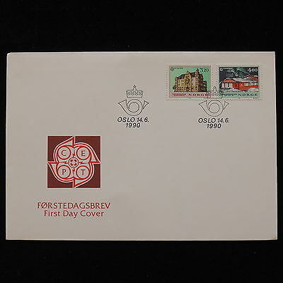 ZG-A041 NORWAY - Europa Cept, Fdc 1990 Cover