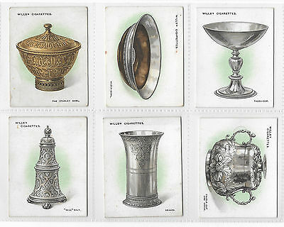 Cigarette Cards - Old Silver - Wills 1924 - Complete Full Set