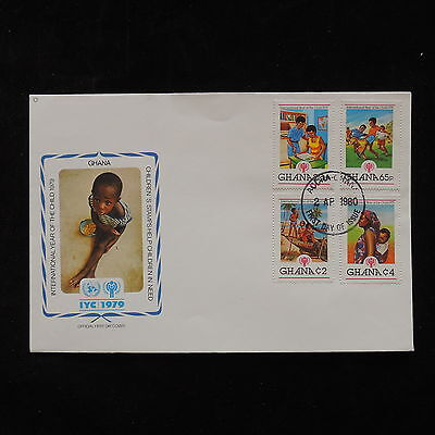 ZG-A362 GHANA - Iyc, International Year Of The Child 1980 Cover