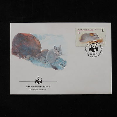 ZG-A368 WWF - Chile, Fdc 1984 Mouse Cover