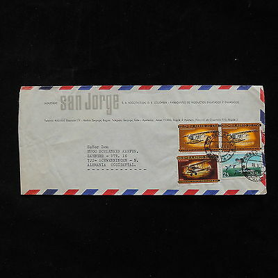ZG-A387 COLOMBIA - Aviation, Fly Fishing 1967 To Germany Cover