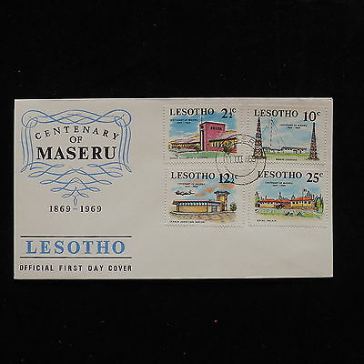 ZG-A427 LESOTHO - Fdc, 1969 Centenary Of Maseru Town Cover