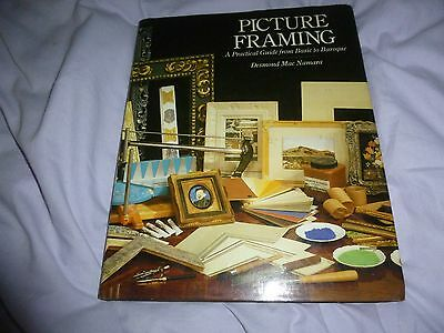 Picture Framing Manual - Techniques, Making, Repair, Moudlings, Cutting, Etc
