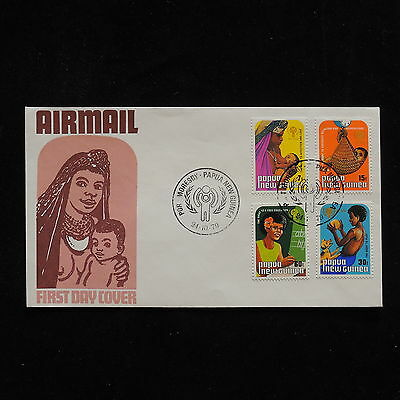 ZG-A552 PAPUA NEW GUINEA IND - Iyc, 1979 Int. Year Of The Child Fdc Cover