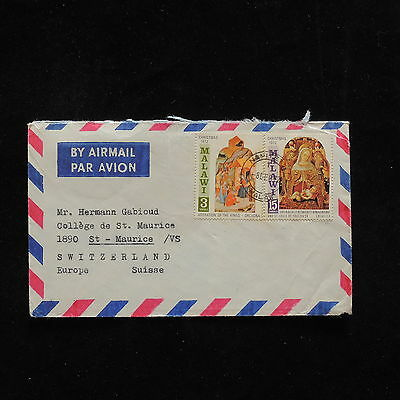 ZG-A577 MALAWI - Christmas, 1972 Great Franking Orcagna Cover