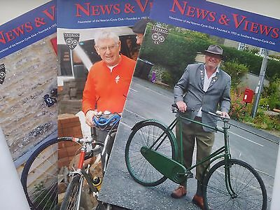 "Job Lot Collection Of 3 Veteran Cycle Club ""news And Views"" Magazines"