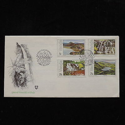ZG-A597 VENDA - Fdc, South Africa 1981 Nature Lakes Waterfalls Cover