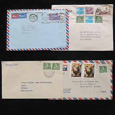 ZG-A801 INDIA IND - Lot, 4 Different Covers