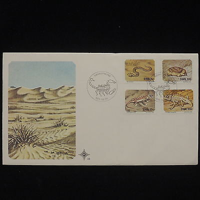 ZG-B151 SWAZILAND IND - Wild Animals, 1978, Fdc, Reptiles, Cover