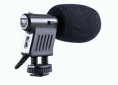 BY-VM01 Mic Camera Directional Condenser Microphone for Canon 600D 5DS 6D Camera