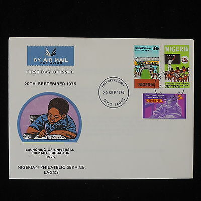 ZG-B190 NIGERIA IND - Fdc, Launching Of Universal Primary Education 1976 Cover