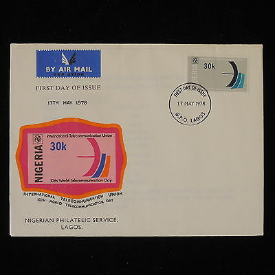 ZG-B209 NIGERIA IND - Itu, International Telecommunication Union Fdc 1978 Cover