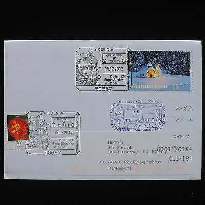 ZG-C044 GERMANY - Trains, 2012, To Denmark Cover