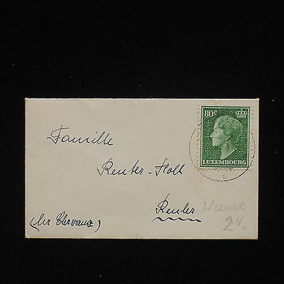 ZG-C054 LUXEMBOURG - Cover, To Reuler