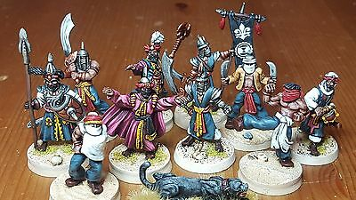 28mm Painted Arabian Nights Fantasy Figures Frostgrave Warband