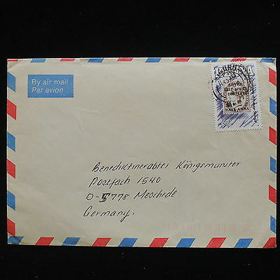 ZG-C172 KENYA - Stamp On Stamp, Air Mail To Germany Cover