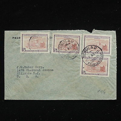 ZG-C194 URUGUAY - Cover, 1954 To Usa