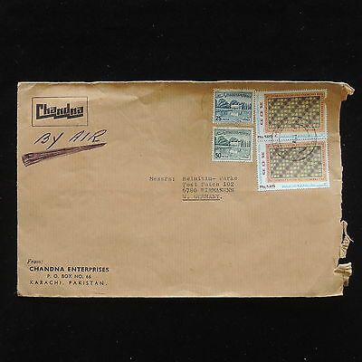 ZG-C243 PAKISTAN - Cover, Air Mail To Germany