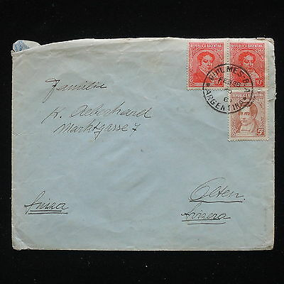 ZG-C266 ARGENTINA - Cover, To Switzerland