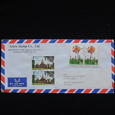 ZG-C291 THAILAND - Cover, Air Mail To Germany