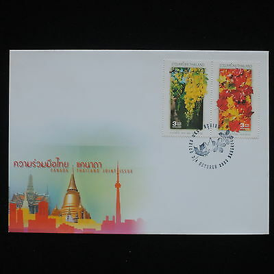 ZG-C300 THAILAND - Canada Covers, 2003, Joint Issue Cover