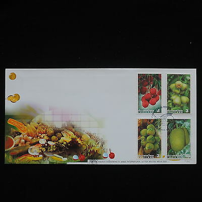ZG-C306 THAILAND - Fdc, 2003, Fruits, International Letter Writing Week Cover