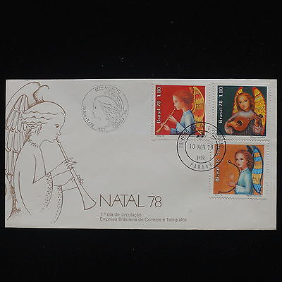 ZG-C331 BRAZIL - Christmas, 1978 Fdc Cover