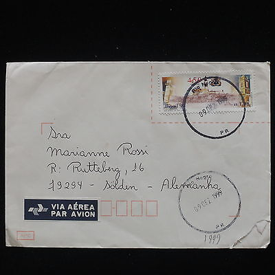 ZG-C333 BRAZIL - Cover, 1999, Air Mail To Germany