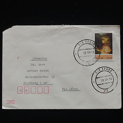 ZG-C336 BRAZIL - Cover, 1980, Air Mail To Germany
