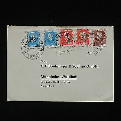 ZG-C339 BRAZIL - Cover, 1962 To Germany