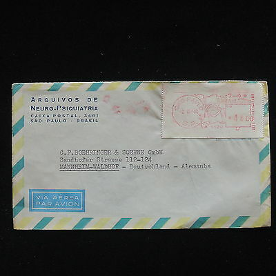ZG-C342 BRAZIL - Cover, 1962 Air Mail To Germany