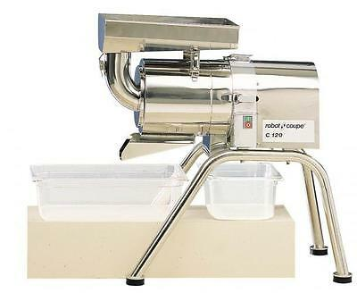 Robot Coupe C120 Auto Pulp Extractor Juicer Floor Model Stainless 275lbs/hr