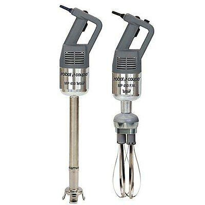 """Robot Coupe Hand Held Stick Mixer W/ 18"""" Shaft & 10"""" Whisk 720 Watts - Mp 450 Tu"""