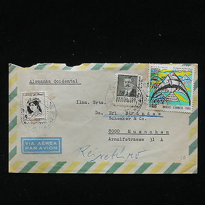 ZG-C348 BRAZIL - Cover, 1970, Air Mail To Germany