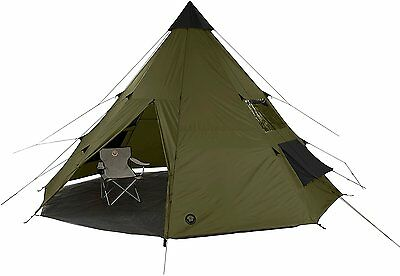 Grand Canyon Tepee Tente tipi indienne olive 8personnes