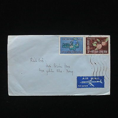 ZG-C484 VIETNAM - Cover, Air Mail, Fruits