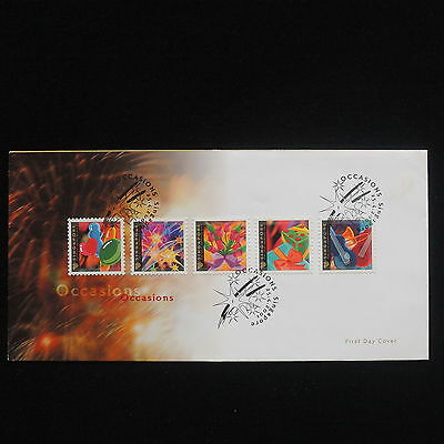ZG-C492 SINGAPORE IND - Fdc, 2001, Occasions Cover