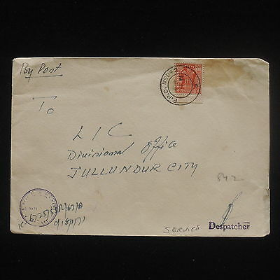 ZG-C535 INDIA IND - Cover, Service Stamp