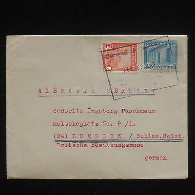 ZG-C571 VENEZUELA - Cover, 1948, To Germany