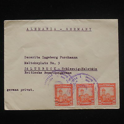 ZG-C574 VENEZUELA - Cover, To Germany