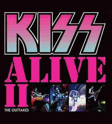 KISS Alive II The Outtakes LP Recorded Japan 1977 LTD 500 Ace Frehley PRE-ORDER