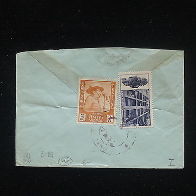 ZG-C639 NEPAL - Cover, Great Franking