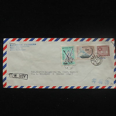 ZG-C652 KOREA - Music, 1964, Air Mail To Italy Cover