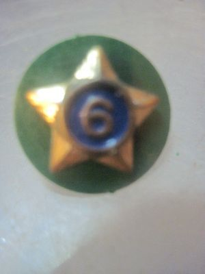 Small Girl  Scouts  Leader 6 Year Service  Pin