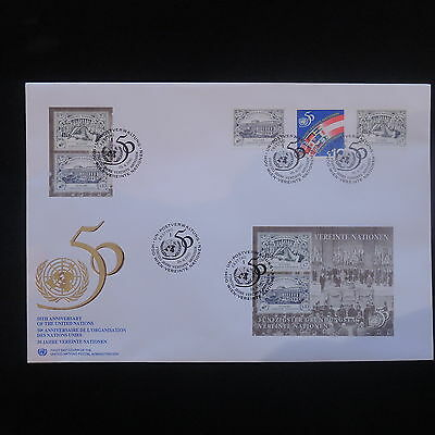 ZG-C691 UNITED NATIONS - Fdc, 1995, 50Th Anniversary Of United Nations Cover