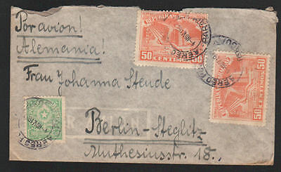 ZG-C735 PARAGUAY - Cover, 1952, Air Mail To Germany