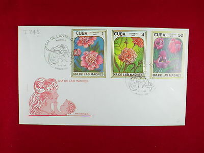 ZG-C839 HAVANA - Flowers, 1985, Fdc, Day Of The Mother Cover